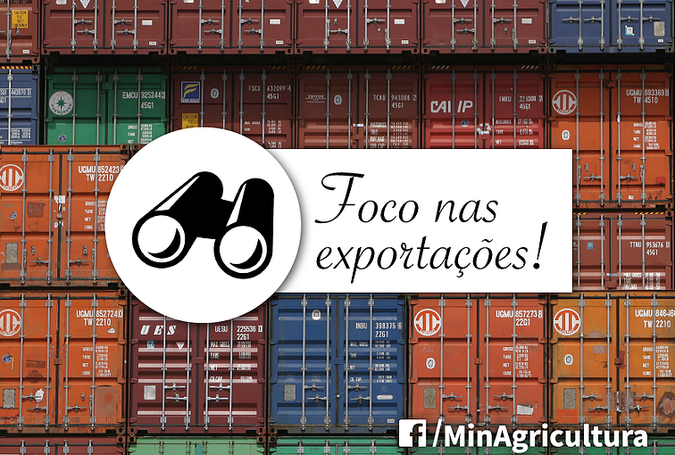 Fonte: Ministério da Agricultura, Pecuária e Abastecimento (Facebook)