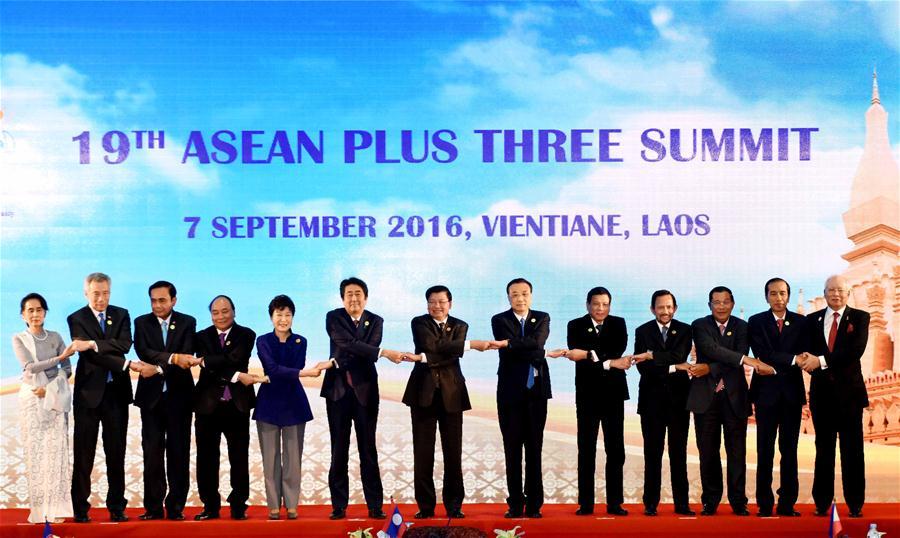 Cúpula da ASEAN+3 em 2016